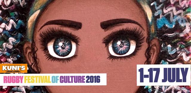 Rugby Festival of Culture 2016 Anna Legaspi Art Trail Kunis Coffee