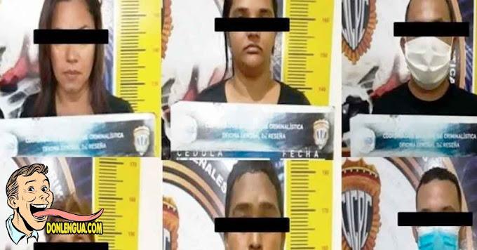 Seis individuos detenidos pro hacer estafas con dólares en Aragua