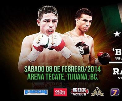 Box Azteca en Vivo - 08 Febrero 2014