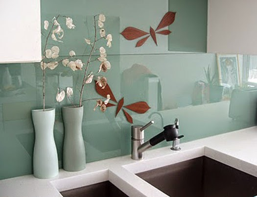 Foundation Dezin Amp Decor Kitchen Wall Glass Tiles