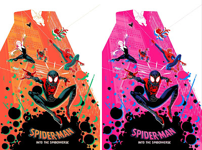 Spider-Man: Into the Spider-Verse Screen Print by Doaly x Grey Matter Art