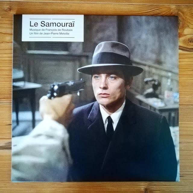 Le Samouraï, une musique de François de Roubaix vinyle