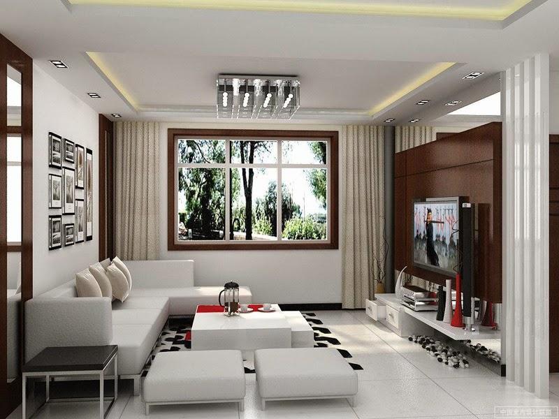 Desain Furniture Ruang Tamu Modern