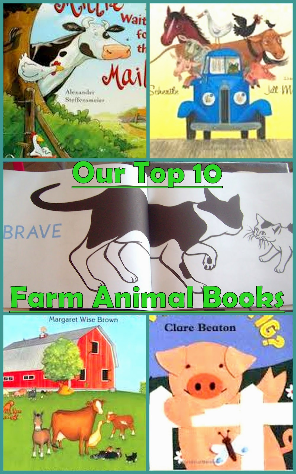 My Bright Firefly: 10 Creative Farm Animals Preschool ...