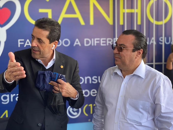 INSTITUTO FOGANHOLI RECEBE A VISITA DO DEPUTADO ESTADUAL DELEGADO OLIM