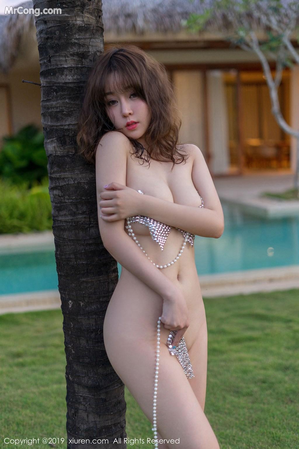 Image XIUREN-No.1470-Wang-Yu-Chun-MrCong.com-036 in post XIUREN No.1470: Wang Yu Chun (王雨纯) (47 ảnh)