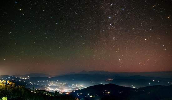 Kausani Attraction : Planets Show Kausani