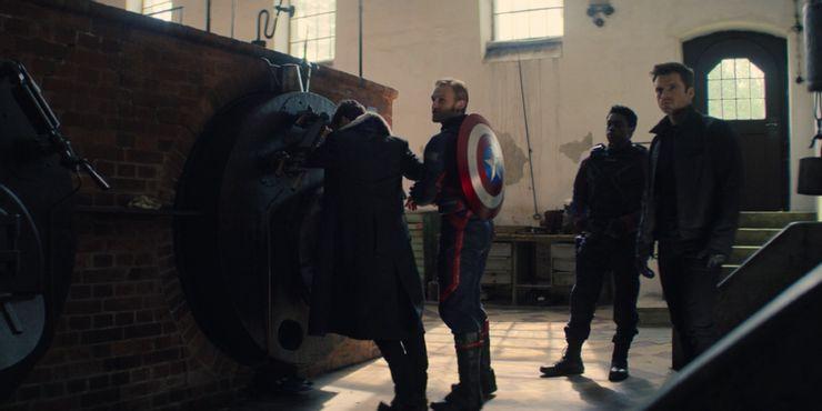 «Сокол и Зимний Солдат» (2021) - все отсылки и пасхалки в сериале Marvel. Спойлеры! - 55