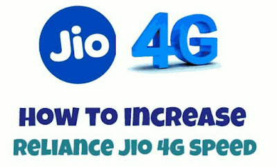 Increase Jio Net Speed