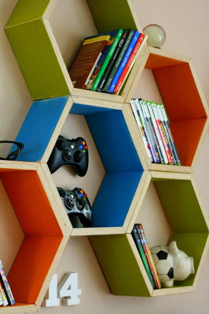 Kids Room Shelf Design Inspiration