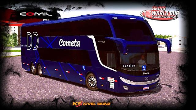 COMIL CAMPIONE INVICTUS DD - VIAÇÃO COMETA DD