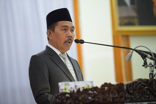 Wakil Gubernur Sumsel berikan jawaban pada rapat Paripurna DPRD Provinsi Sumsel ke XLVI