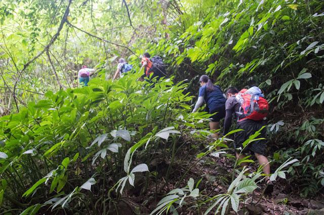 Pasukulan Falls Trail