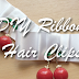 DIY Ribbon Hair Clips