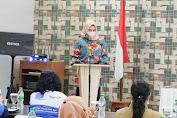 Ketua TP-PKK Kabupaten Melawi Hadiri Sosialisasi Peningkatan Kualitas Keluarga Tahun 2021