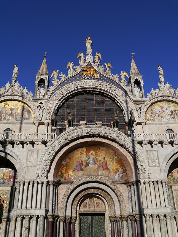 Facade of Basilica San Marco