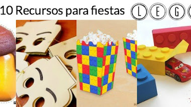 10 recursos para fiestas Lego