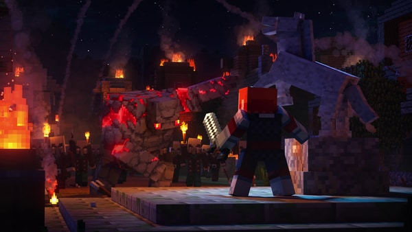 Minecraft Perlihatkan Trailer Cinematic Untuk Update Dungeoun-nya