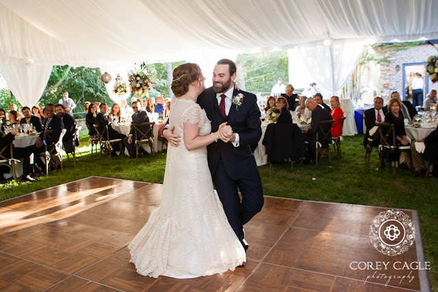 first dance | Corey Cagle Photography