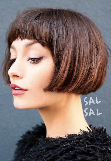 2019 short hairstyles female