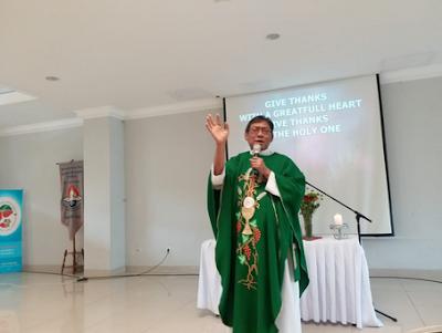 Kuasa Doa, Sharing pelayanan oleh Pst Felix Supranto, SS.CC