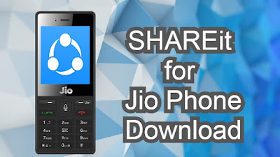 SHAREit on JioPhone Download