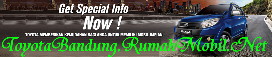 Paket Kredit Toyota Rush Di Bandung
