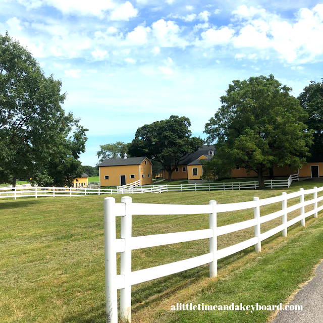 Inspirational and stunning views abound throughout St. James Farm.