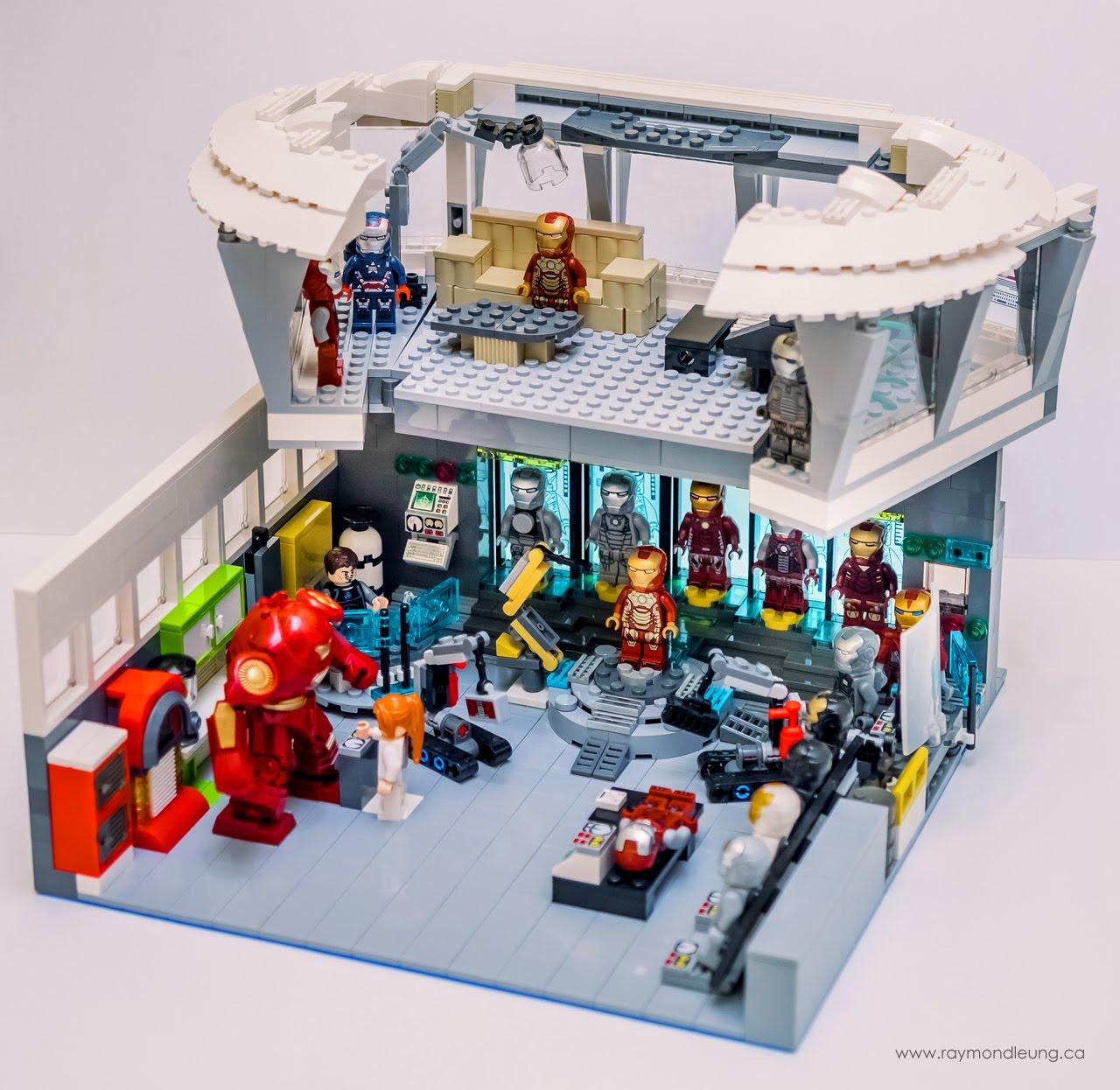 La Bricks & Hobby: LEGO Marvel Iron Man Malibu Mansion