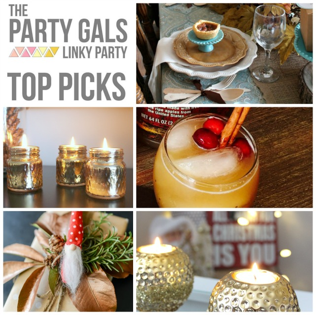 Girls Christmas Party Ideas Part - 20: Each Linky Party Will Feature A Collage Of Our Favorite Projects And Ideas  That You Shared With A Link To Your Posts!