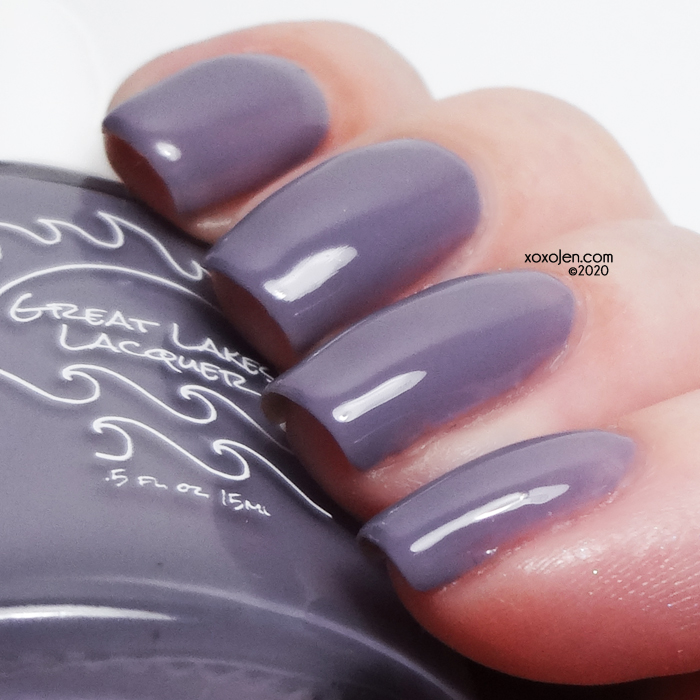 xoxoJen's swatch of Great Lakes Lacquer Prosperity