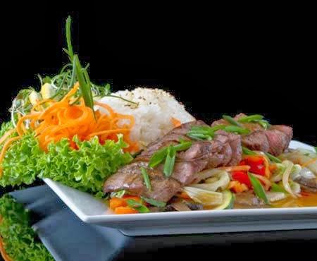Resep masakan daging kambing saus teriyaki