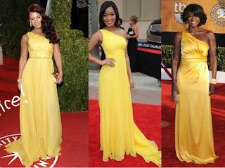 vestido amarelo para noivas negras