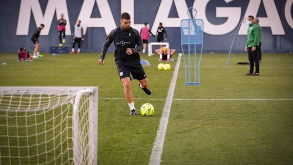 Málaga, Alexander González es la novedad junto a Haitam en el entrenamiento