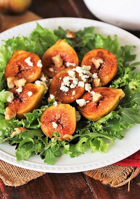 Balsamic Marinated Fig Salad Image