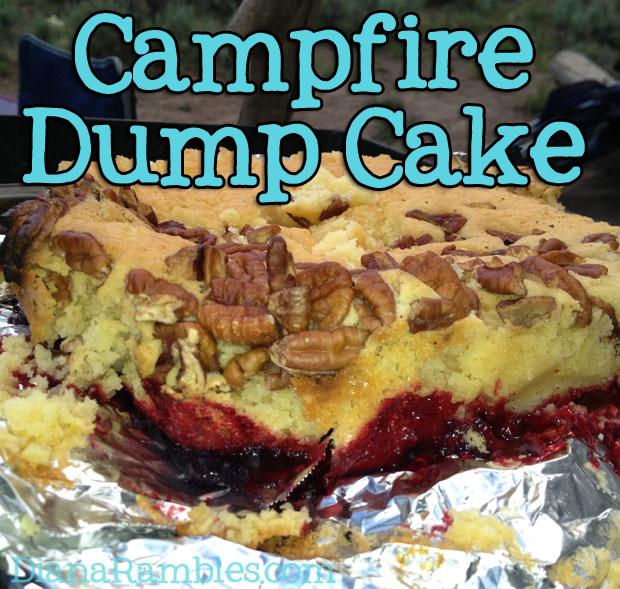 campire cake, cake, cake recipe image
