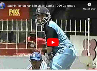 India vs Sri Lanka 6th match aiwa cup highlights 1999