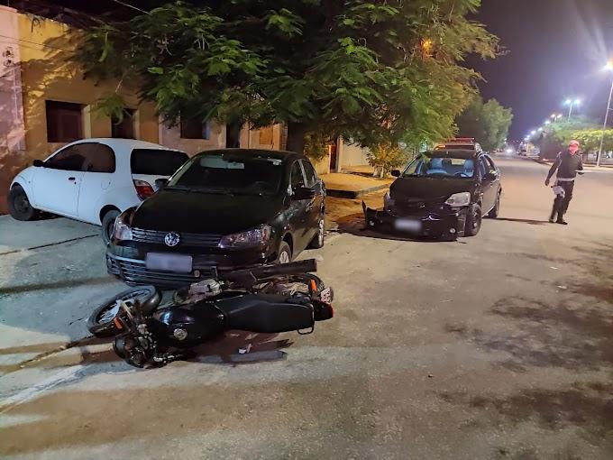 Homem é preso por embriaguez ao volante após se envolver em acidente de trânsito em Grossos
