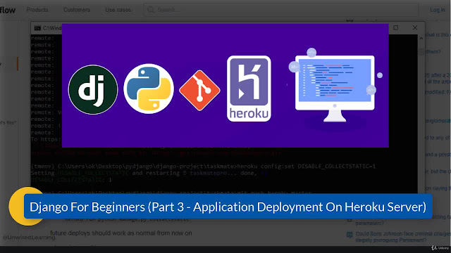 Django 2 for Beginners (Part 3) - Deployment on Heroku Cloud