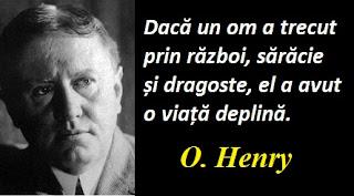 Citatul zilei: 11 septembrie - O. Henry
