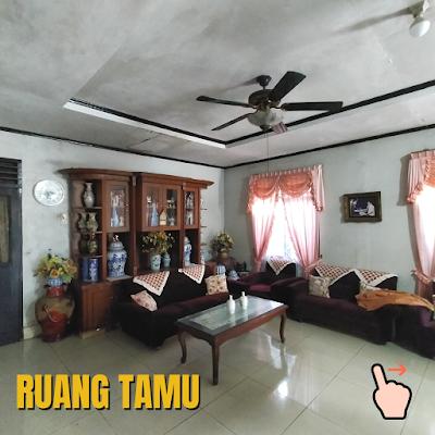 Ruang Tamu `Rumah Luas Tanah 456 m2 lokasi sekitar Jalan Ayahanda Medan