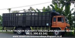 SEWA TRUK TRONTON SURABAYA TANJUNG JABUNG BARAT (KUALA TUNGKAL) MURAH