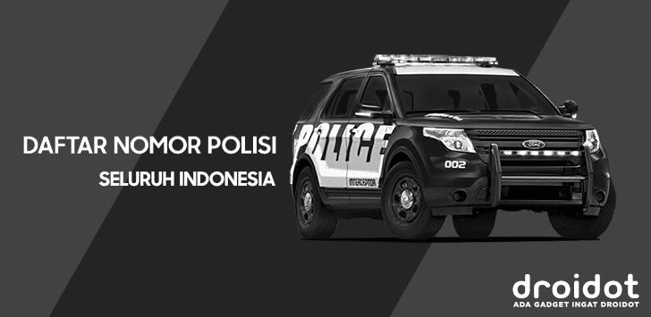 Aplikasi Android Lihat Nopol Se Indonesia