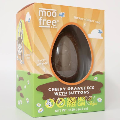 Chocolate Orange Egg, MooFree - £4.00