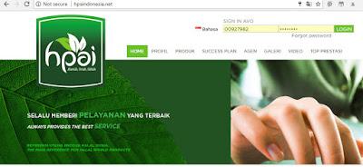 cara login avo hpai situs resmi