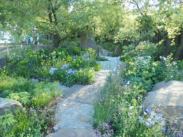 Cleve West's show garden at Chelsea Flower Show