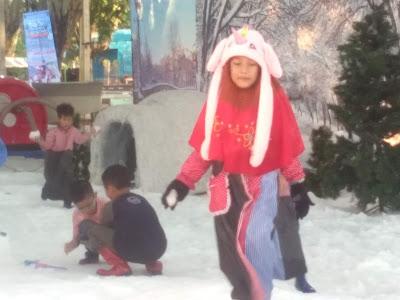 main salju Jateng Fair 2019