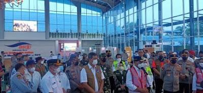 Menhub dan Kepala BNPB Apresiasi Kinerja Pemprov Lampung