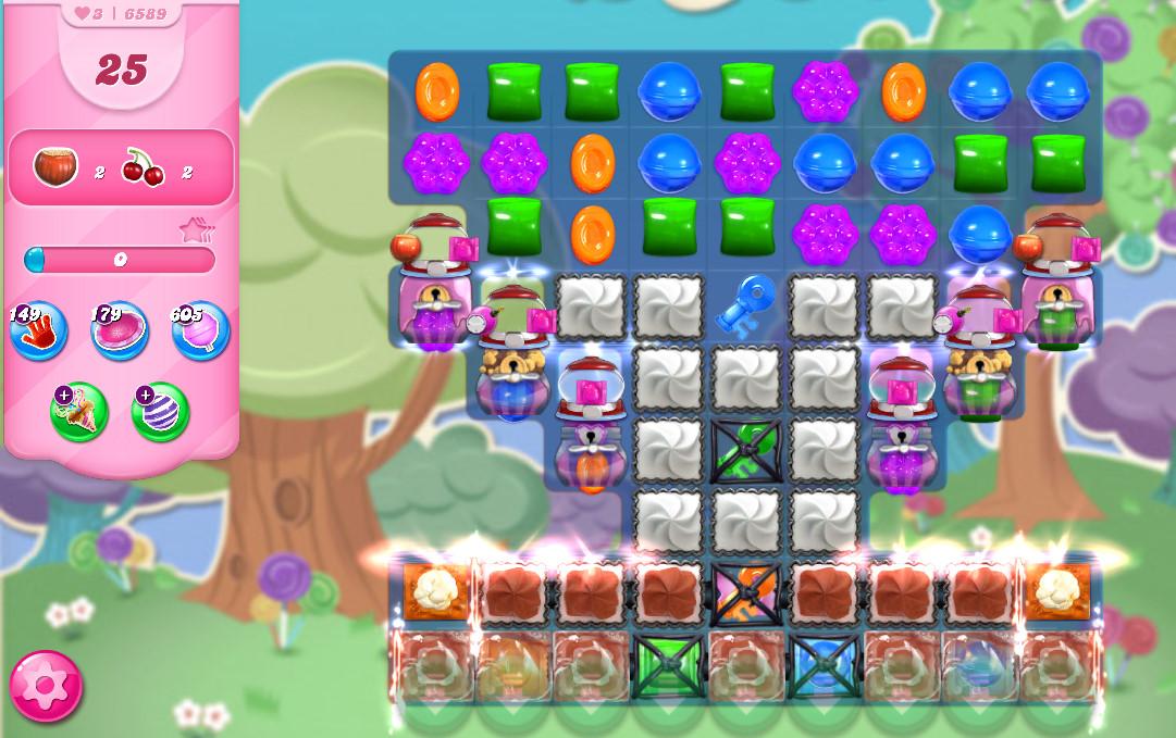 Candy Crush Saga level 6589