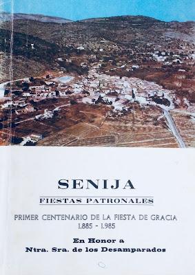 Portada llibre de Festes 1985.